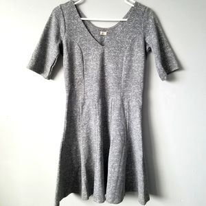 Beautiful grey knitted dress from Hollister
